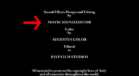 Sound Editor: Movie Sound Editor